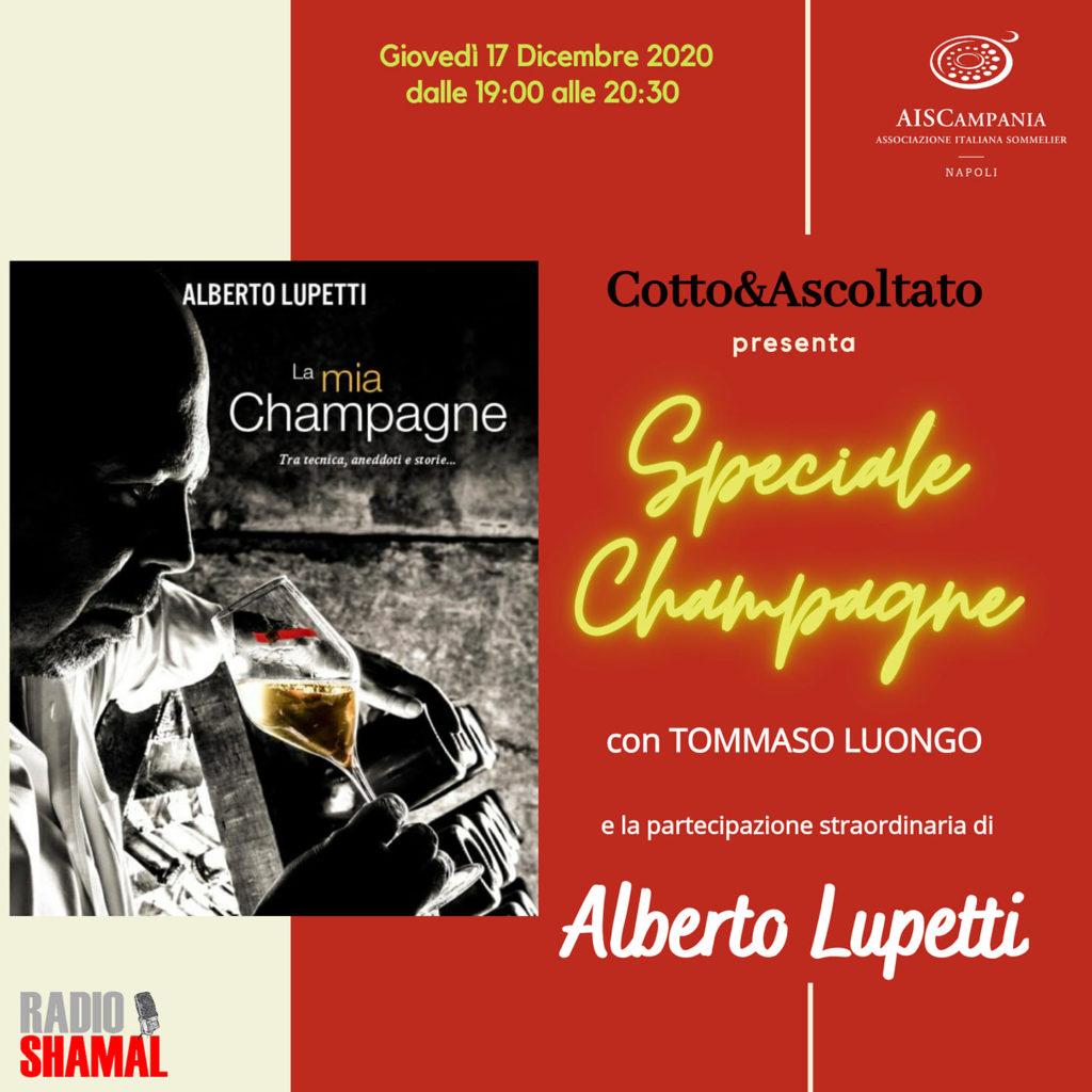 Cotto & Ascoltato – Speciale Champagne
